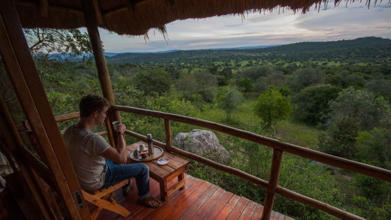 View from your balcony - Mburo Safari Lodge
